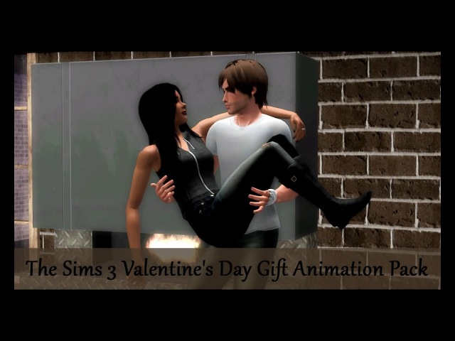 The Sims 3 Valentine's Day Gift Animation Pack by FunnyJulia [DOWNLOAD]
