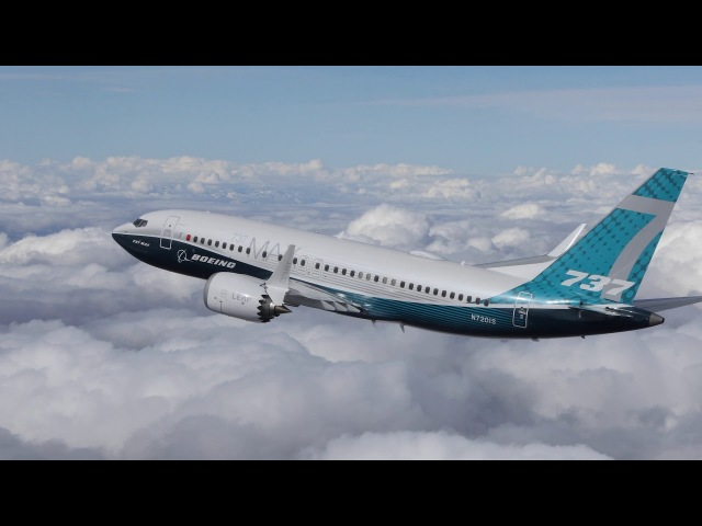 Boeing 737 MAX 7 - первый полет