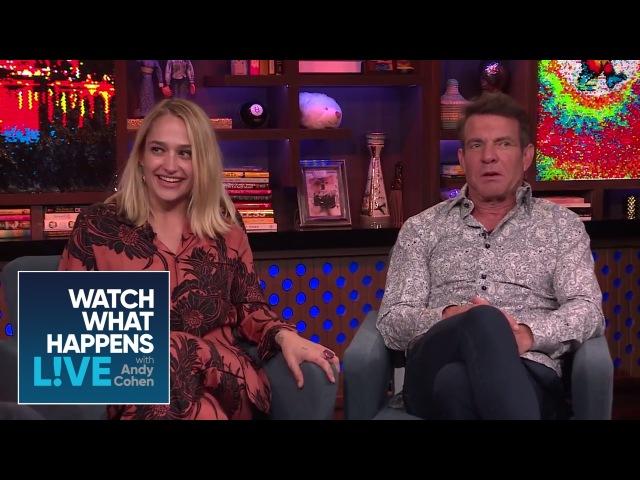 Jemima Kirke And Dennis Quaid On Sex Scene Boners | WWHL