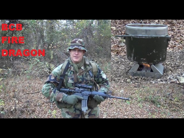 INDIVIDUAL INFANTRY FIELD STOVE BCB Fire Dragon