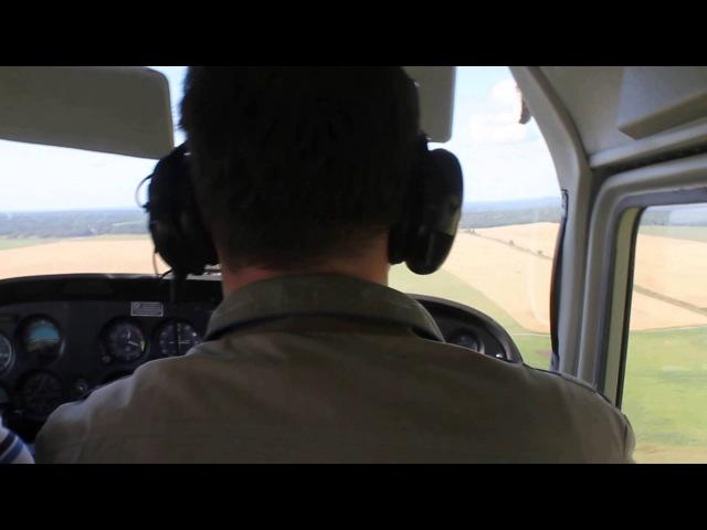 VFR полет на Cessna 172