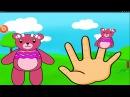 Семья пальчиков Finger Family.Семья -Мишек