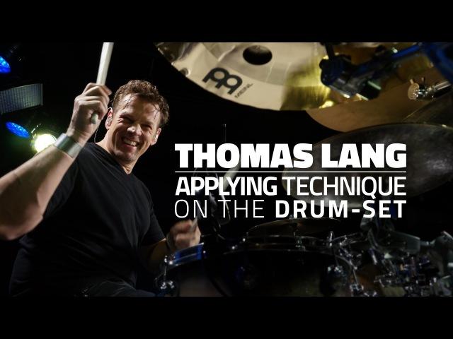 Thomas Lang: Applying Technique On The Drum-Set - Drum Lesson (Drumeo)