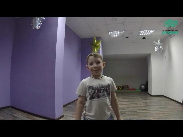 Отзыв Богдана о первом занятии в Школе бега Бегомания