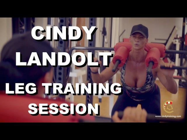 Leg Training Bodybuilding Cindy Landolt Centurion Club Zurich
