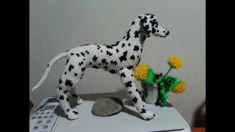 Грациозный Далматин! ч.3. Graceful Dalmatian! р.3. Amigurumi. Crochet. Амигуруми.