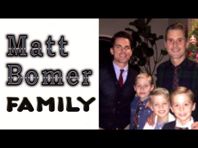 Matt Bomer. Family (His husband Simon Halls 3 sons)