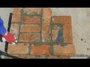 Кирпичная кладка угла в 2 кирпича Однорядная система перевязки © masterkladki rbhgbxyfz rkflrf eukf d 2 rbhgbxf jlyjhzly
