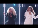 Ariana Grande Christina Aguilera - Into You/Dangerous Woman (Live on The Voice Final 2016) HD