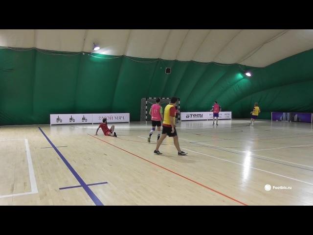 FOOTBIC.RU. Видеообзор 16.11.2017 (Метро Марьина Роща). Любительский футбол
