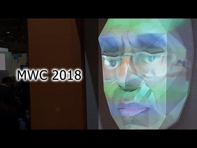 Блиц №22. MWC 2018. Стенд NTT Docomo