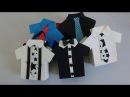 DIY: Lembrancinha para o Dia dos Pais: Sacola Camisa.