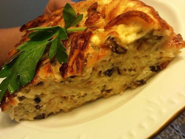 Рваный пирог из лаваша.Пирог для ленивых.Пирог без возни с тестом.Lavash.Tasty pie.