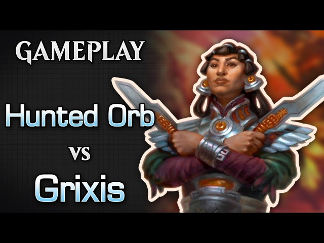 Hunted Orb -vs- Grixis Control - MTGO Gamplay 01