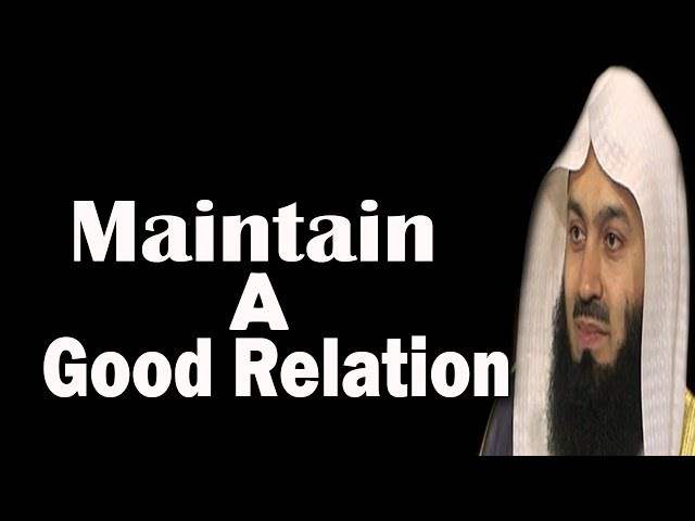 Value Of Siblings In Terms Of Islam | Mufti Menk