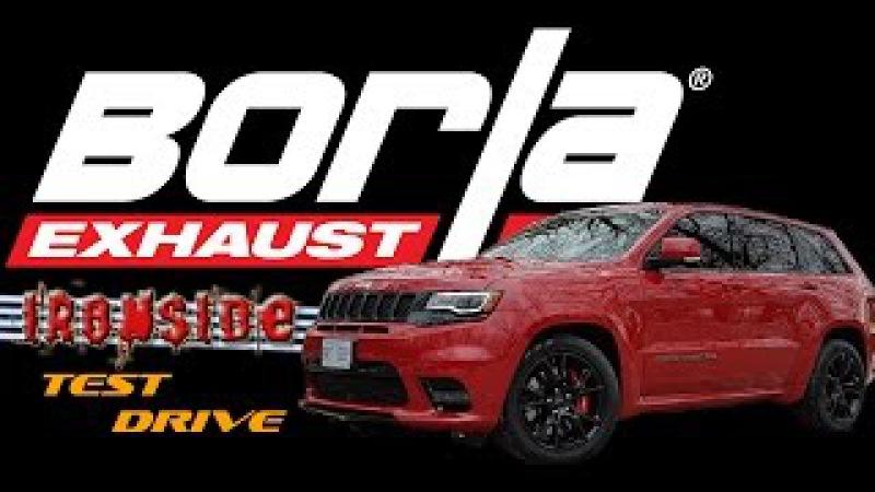 2017 Jeep SRT - Borla ATAK Cat-back Exhaust Test Drive
