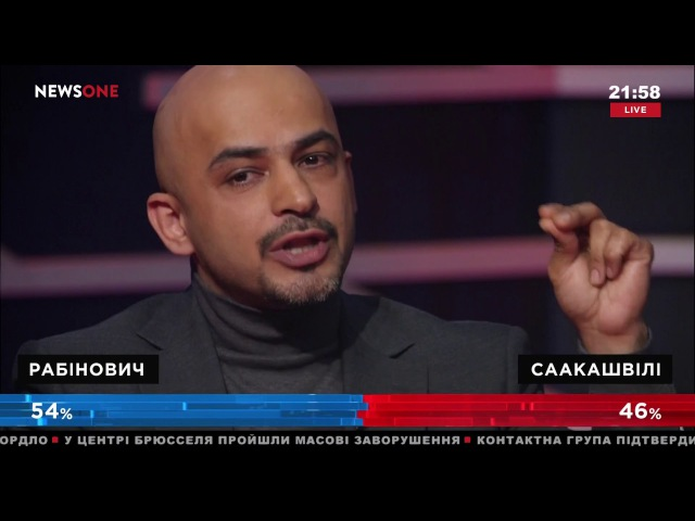 Жесткая перепалка Найема и Добкина в эфире Украинского формата на NewsOne 15 11 17
