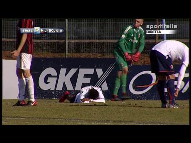 Campionato PRIMAVERA 1: Milan - Bologna 0-0