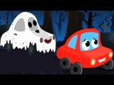 Хэллоуин ночь страшные дошкольные песни детская музыка Scary Rhymes For Kids Halloween Night