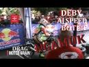 LIHAT DEBY AP 05 NGAMUK DENGAN NINJA TEAM AJ SPEED BOTER - VIDEO DRAG BIKE