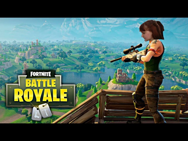 Fortnite: Королевская Битва - Играем за Аню Фомину