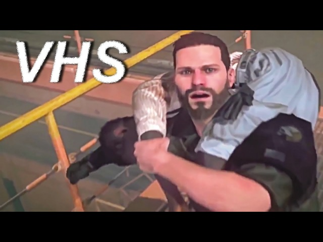 Metal Gear Survive (2018) - трейлер релиза на русском - озвучка VHS