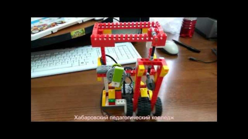 LEGO WeDo Часы ходики