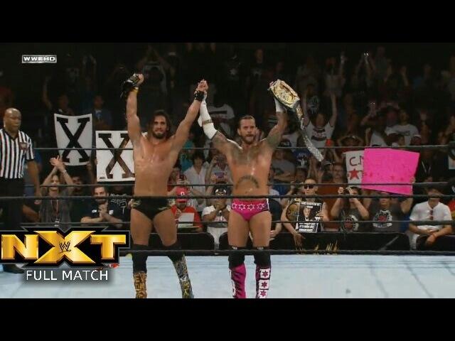 (Wrestling Premium) FULL MATCH CM Punk Seth Rollins vs Antonio Cesaro Kassius Ohno NXT, October 17, 2012