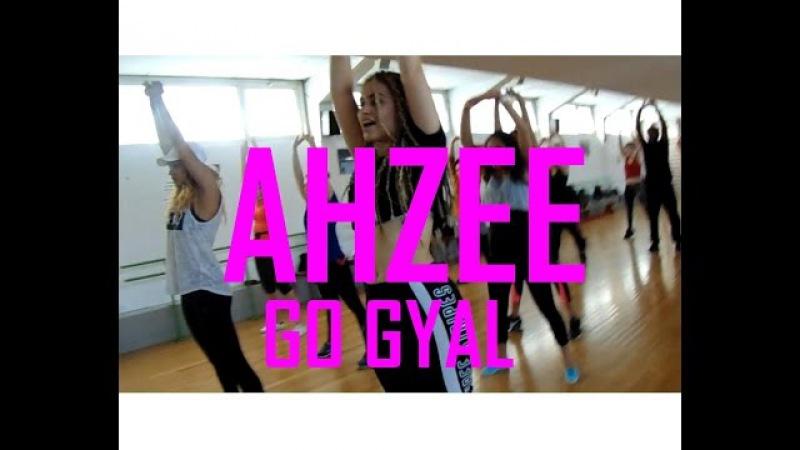 Ahzee - Go Gyal   Linzy Choregraphy