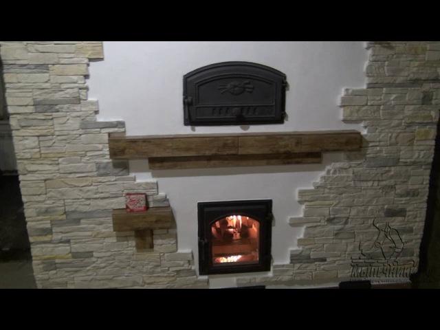 Печь отопительная с хлебной камерой