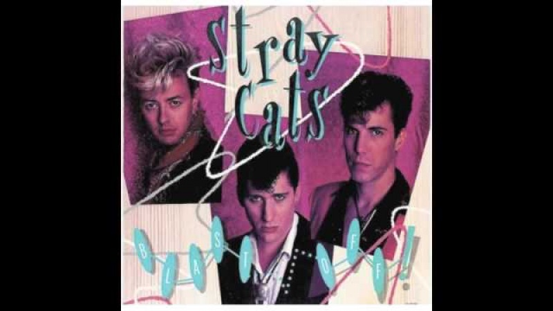 Stray Cats - Rockin All Over The Place