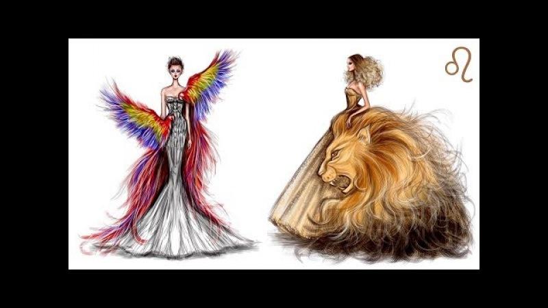 Художник из Иордании рисует РОСКОШНЫЕ МОДНЫЕ ИЛЛЮСТРАЦИИ от которых не оторвать глаз! Дизайн одежды