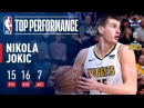 Nikola Jokic ELECTRIC Performance vs The Hornets