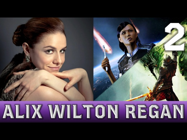 BioFan Interview | Alix Wilton Regan [Voice of The Inquisitor Traynor] Part 2