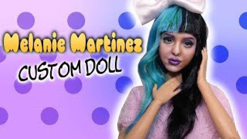 Melanie Martinez Custom Doll Tutorial DIY Barbie Repaint