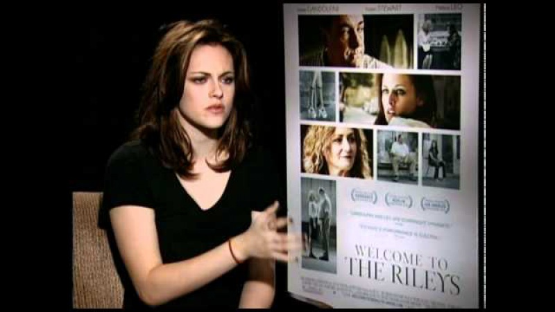 Kristen Stewart talks about playing a teen stripper in 'Welcome to the Rileys'