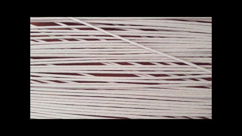 Ангелочек своими руками! Плетем из бумажных трубочек! Запись трансляции! 26.12