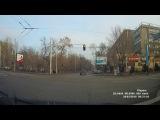 28.02.2018 Алматы АбаяГагарина 653DOB02 проезд на запрещающий
