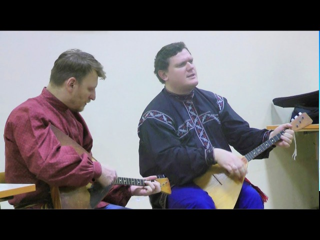Дмитрий Парамонов и Сергей Соломахин, дуэт Соборяне - сибирские песни и наигрыши