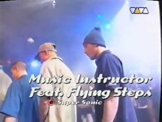 Music Instructor Feat. The Flying Steps - Super Sonic 1998 Live @ Club Rotation