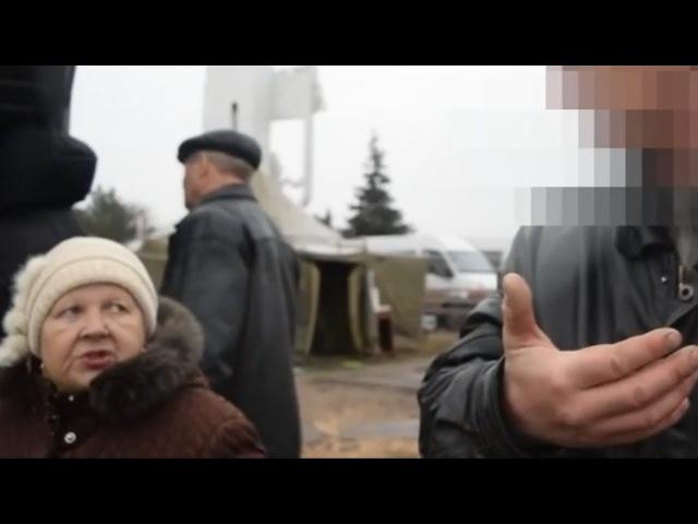 Хотим домой, в Украину! жители оккупированного Луганска