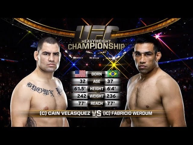 Fight Night London Free Fight: Fabricio Werdum vs Cain Velasquez