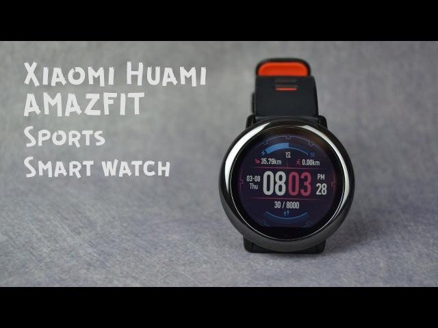 Xiaomi AMAZFIT PACE GPS RUNNING WATCH II ПОЛНЫЙ ОБЗОР УМНЫХ ЧАСОВ II 3 месяца на руке II Достойные