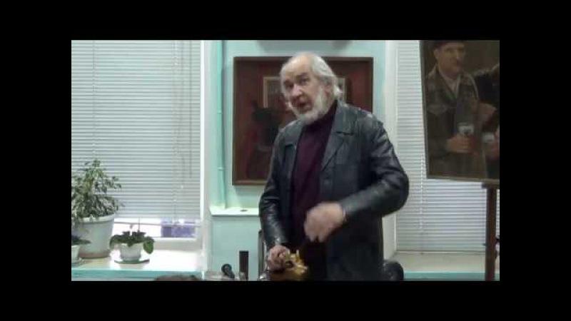 Открытие художественной выставки В. Н. Слатинского в г. Малоярославец 2017г
