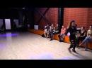 2014-08-04 Марта Ханна. Шоу-номер на Крутой вечеринке в Челябинске