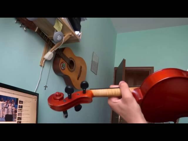Hora Primaverii (Orchesta lautarii Chisinau) la vioara