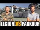 Противостояние паркур против физ. подготовки Французского иностранного легиона