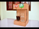 How to Make Coca Cola Soda Fountain Machine with 2 Different Drinks at Home