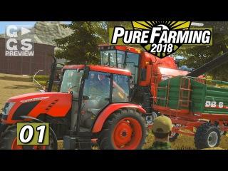 PURE FARMING 2018 🚜 Mein Erster Bauernhof Gameplay ► #01 Landwirtschaft Weltweit Simulation deutsch