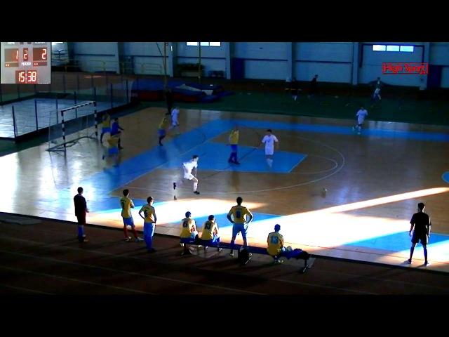 Highlights Вища ліга АФС Sagacitas 3-6 Компсервіс-СумДУ2   8.01.2018   HighSportLive